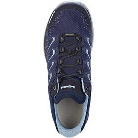 Lowa Maddox GTX Low Shoes Women navy/iceblue